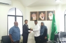 Saudi embassy commends Nabeeh with USD 1,000