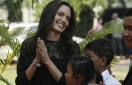 Angelina Jolie in Cambodia for premiere of her new film