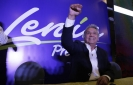 Ruling party candidate leads in Ecuador's presidential vote