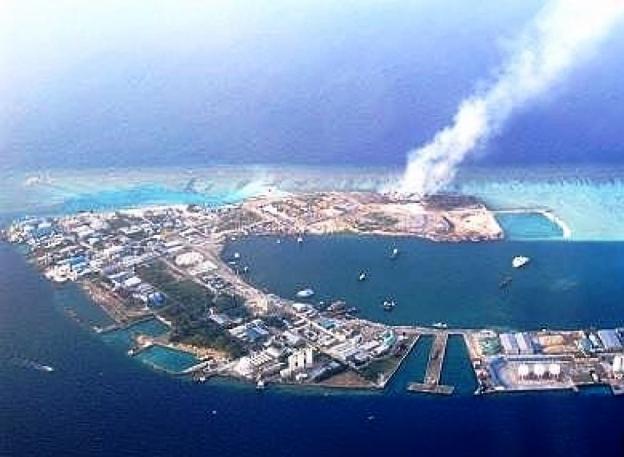 Maldives island paradise Thilafushi trashed and reduced to a pile ...