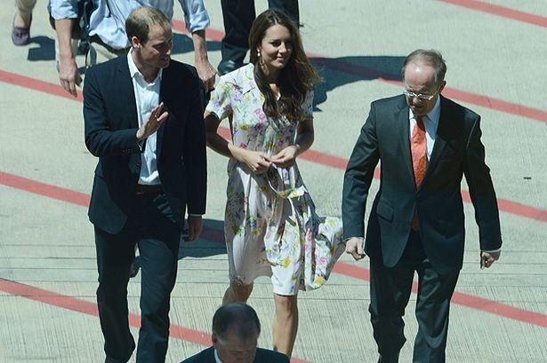 Prince William and Kate Middleton arrive in Maldives
