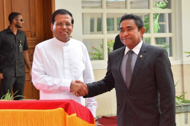 President sends message of sympathy to the President of Sri Lanka