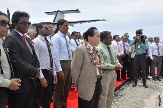 Festive ceremony marks opening of Kooddoo Airport