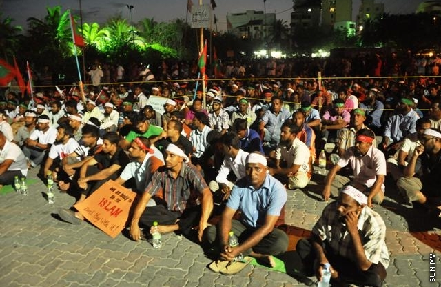 MDP Leadership issues warnings of violence against protesters expressing love of Islam