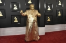 Grammys fashion: CeeLo goes gold, Lady Gaga goes bitty