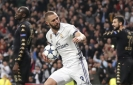 Madrid's Benzema ends drought with a record-setting goal