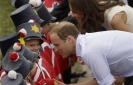 Prince William, Kate undeterred by Quebec protests