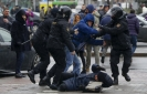 Belarus police arrest over 400 protesters; many are beaten