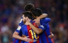 Messi nets 2 as Barca rebounds before Juve and Madrid games