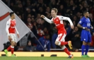 Arsenal in touch with top 4 after beating ailing Leicester