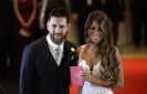 Messi marries childhood sweetheart in Argentina hometown