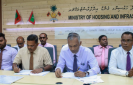 Contracts awarded for Kaadhidhoo sea wall and Fonadhoo harbor projects