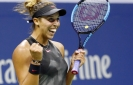 Keys, Vandeweghe complete US sweep of women's SFs at US Open