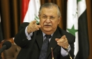Kurdish leader Talabani, onetime hope for Iraqi unity, dies