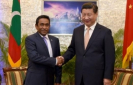 China slams ex-President Nasheed for false claims