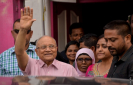 Maumoon transfered to Dhoonidhoo again