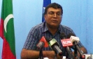 Today Maldives is displaying similar signs to that of failed countries: DRP