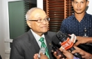 Maumoon says wouldn't accept an invitation to participate in the SAARC Summit