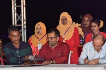 Agreement signed to create 1,000 jobs for G. A. Atoll youths
