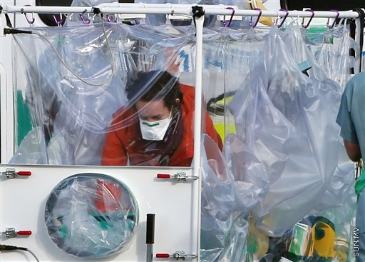 London hospital admits nurse who recovered from Ebola twice