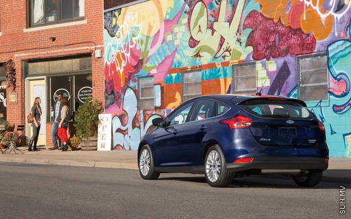 Safety, technology upgraded in 2016 Ford Focus hatchback
