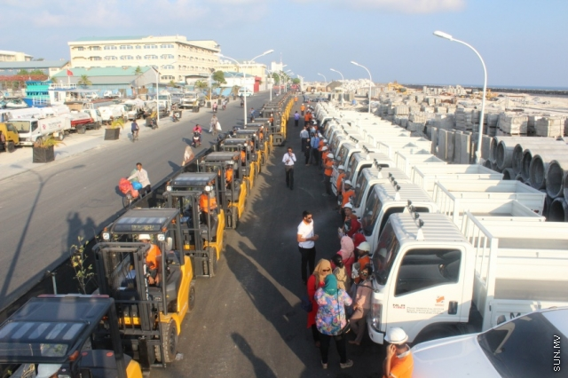 88 vehicles brought in for MRDC