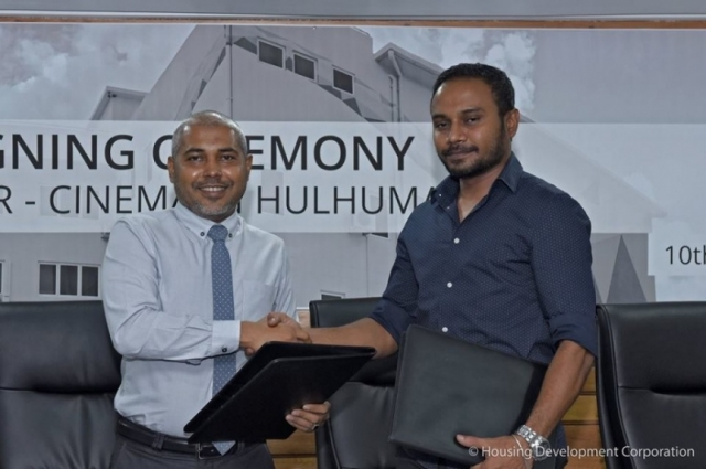 Schwack contracted to run cinema in Hulhumale'
