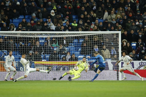 Celta stuns Madrid 2-1 in 1st leg of Copa del Rey quarters