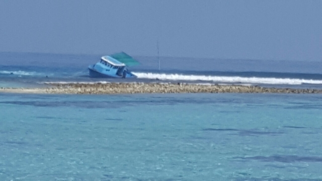 Boats warned to be on alert for drifting wood near Kaashidhoo
