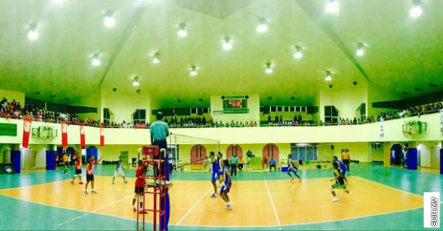 44 teams take part in the school and college volleyball competition