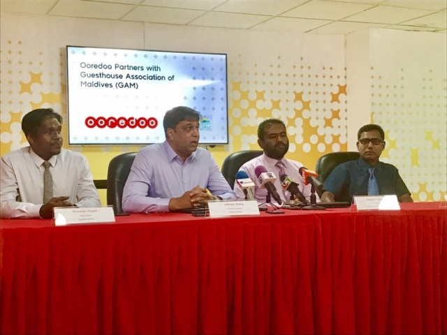 Ooredoo pledges assistance to Maldivian guesthouses