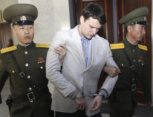 N. Korea says it freed US student over humanitarian reasons