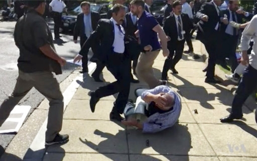 Official: 12 Turkish agents to be charged for DC melee