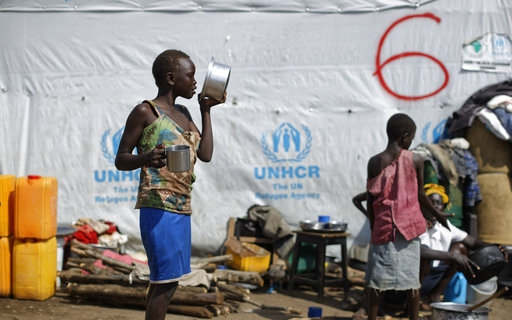 UN: Number of global displaced up to 65.6 million last year