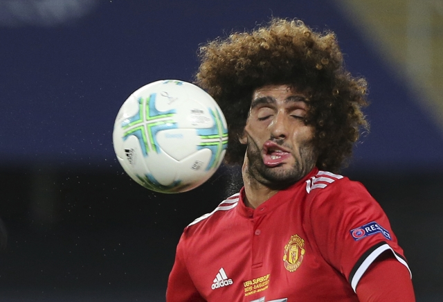 Not a pretty picture: Fellaini faces mockery after Super Cup