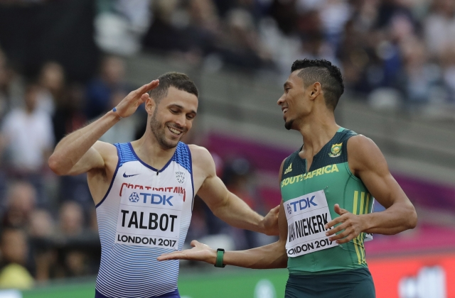 All work, and some fun, as Van Niekerk goes for world double