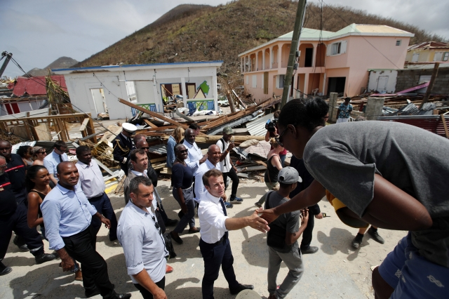 Europe leaders answer anger over Irma response in Caribbean