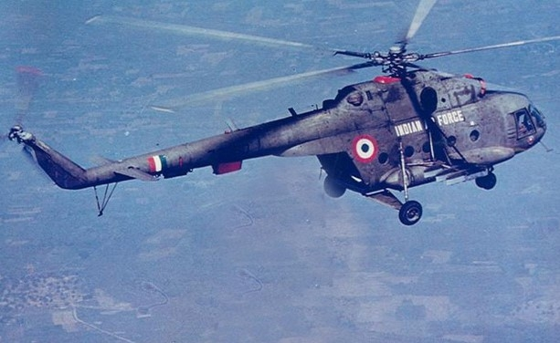 Indian air force helicopter crashes, killing all 7 on board