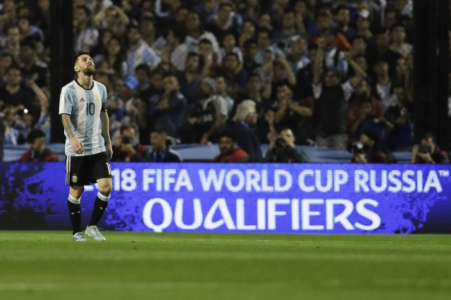 Argentina on brink of missing World Cup; Messi's last chance