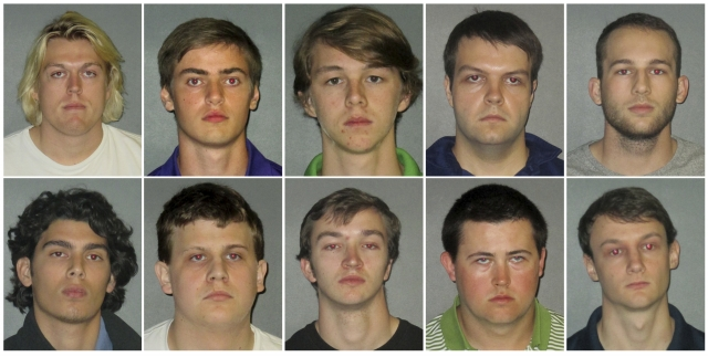 Police arrest 10 in drinking death of LSU fraternity pledge
