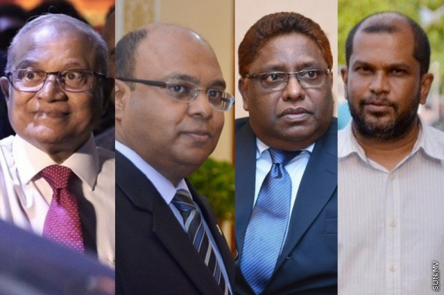 Dr. Muizzu meets Maumoon, Saeed and Hameed as special envoy